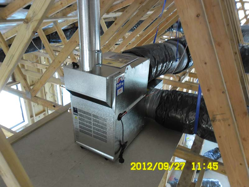 Ducted Heating And Air Conditioning Installation Gallery