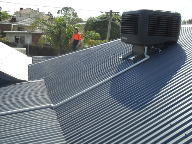 Evap Cooler Installation : Ducted heating and air conditioning installation gallery