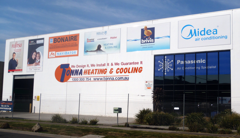 Ducted Heating and Air Conditioning Showroom